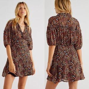 NWT Free People Bonnie Mini Dress